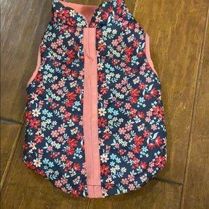 Dog Floral Jacket